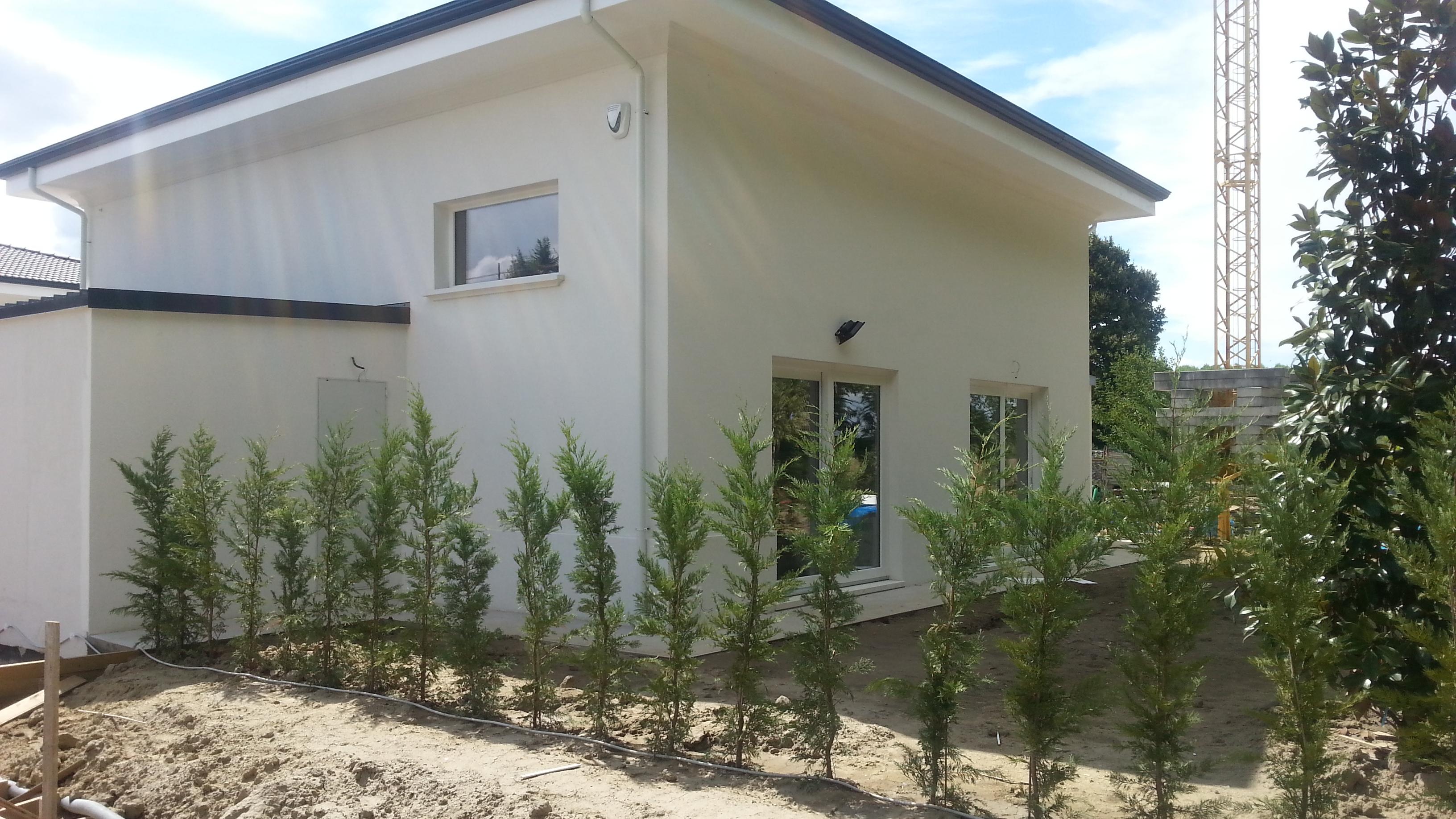 esterno complesso torreverde - bologna - mazzocchi legno