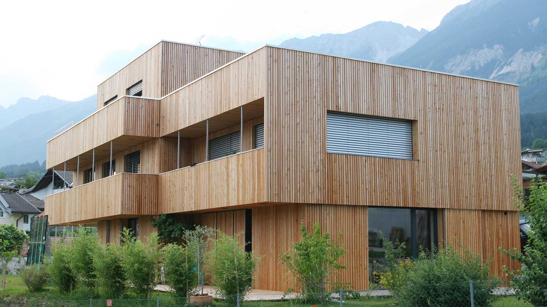 mazzocchi legno - esempio struttura in legno