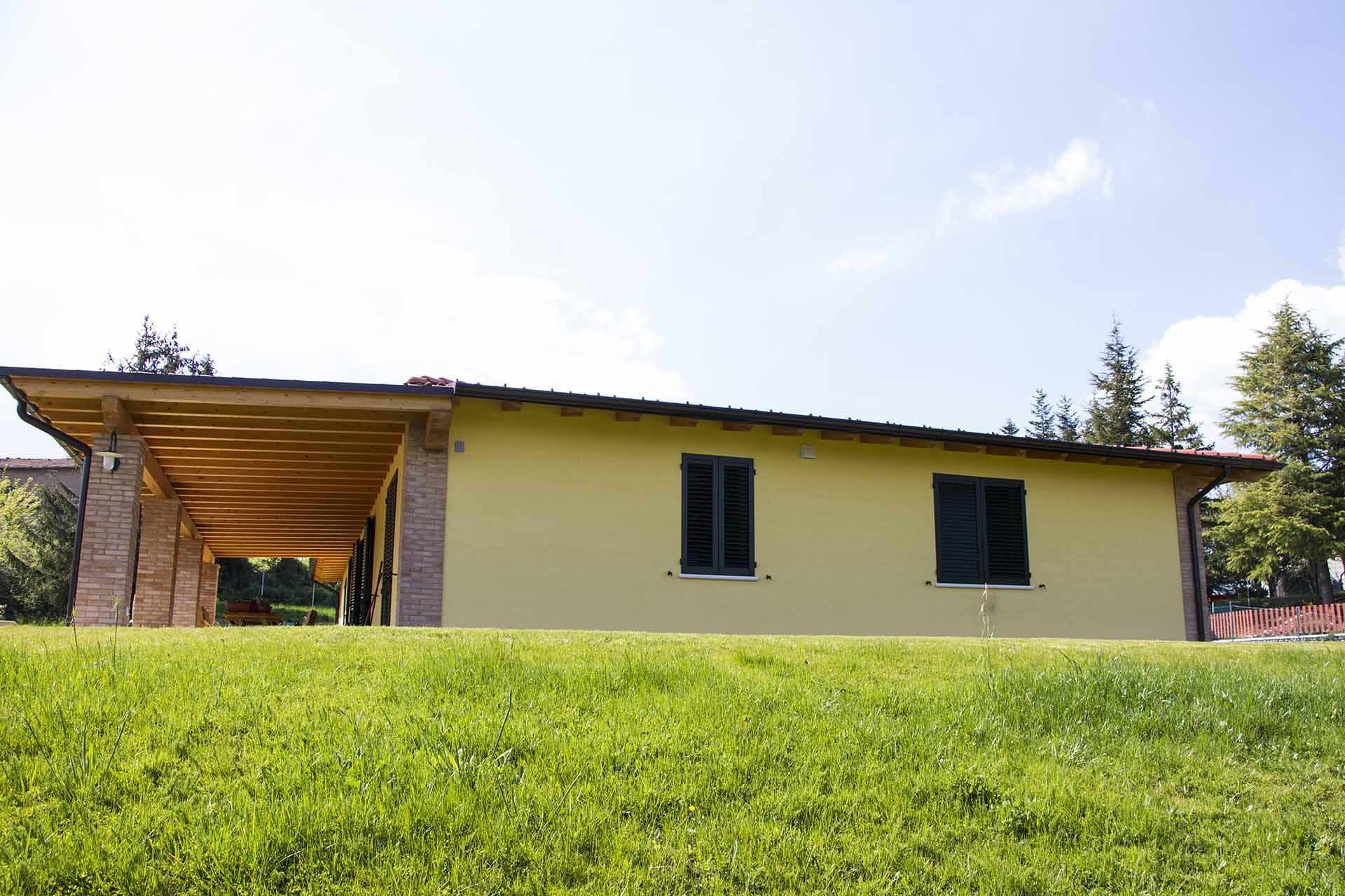 esterno casa - mazzocchi strutture in legno-bologna